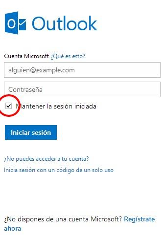 Como Cerrar Sesión en Outlook (Hotmail)