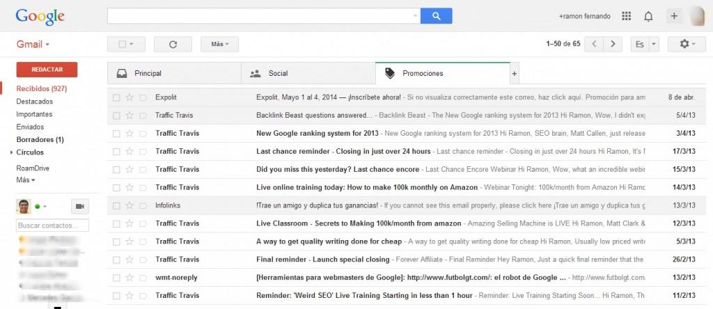 Cómo eliminar mensajes en Gmail