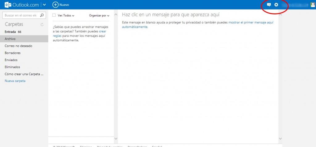 Cómo redireccionar correos de Outlook (Hotmail) a Yahoo