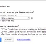 Cómo importar y exportar contactos: Gmail, Yahoo, Outlook