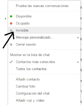 Como desctivar el Chat de Gmail