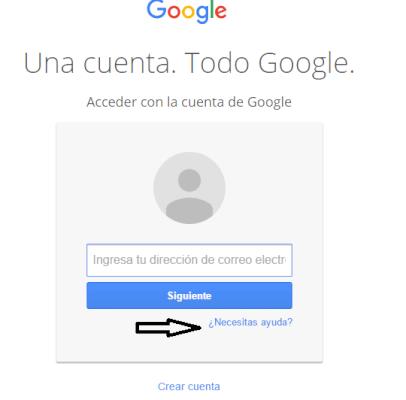 Recupera tu cuenta de Gmail que eliminaste