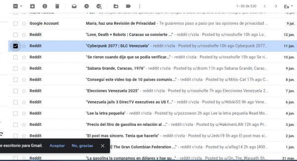 archivar correo gmail pasos