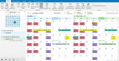 crear calendario compartido outlook