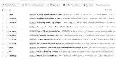 formas para limpiar el correo gmail