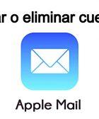 crear o eliminar cuentas en Mail