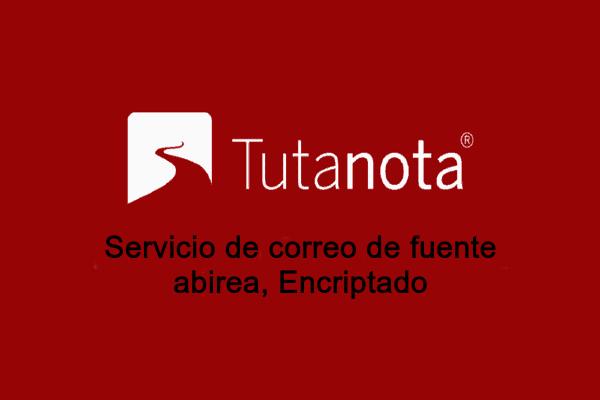 correo electrónico Tutanota